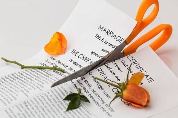 הסכמי גירושין בין זוגות נשואים