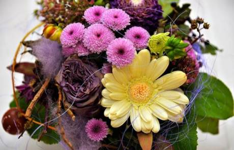 עשי זאת בעצמך – סידורי פרחים לשולחן