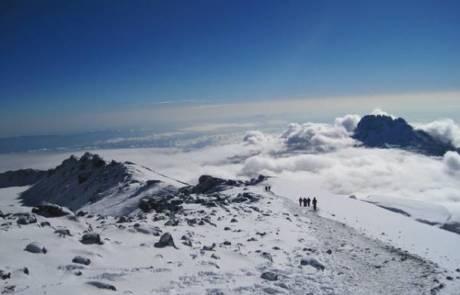 טיולים מאורגנים לפסגה הקסומה של הקילימנג'רו