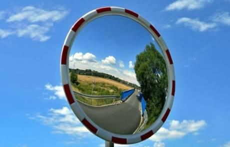 איך להתקין מראה פנורמית