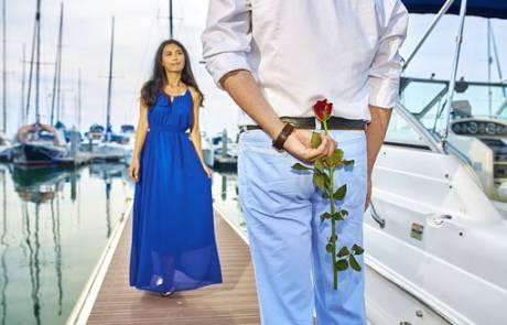 הפלגה רומנטית מהחלומות